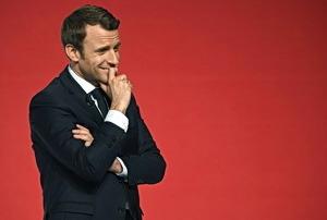 FILES-FRANCE2017-VOTE-MACRON